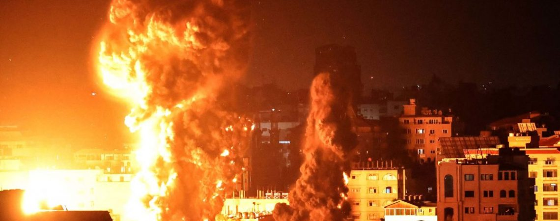 Netanyahu vows to continue strikes on Gaza as Israel pounds Hamas targets
