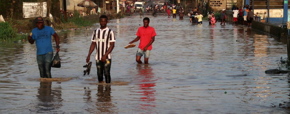 Africa's most populous city is battling floods and rising seas. It may soon be unlivable, experts warn